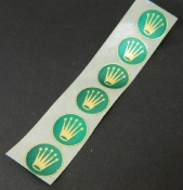 Rolex vintage  6 stickers 17mm