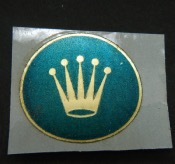 Rolex vintage sticker 27mm