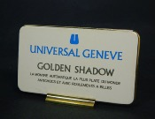 Universal Geneve golden shadow plaque